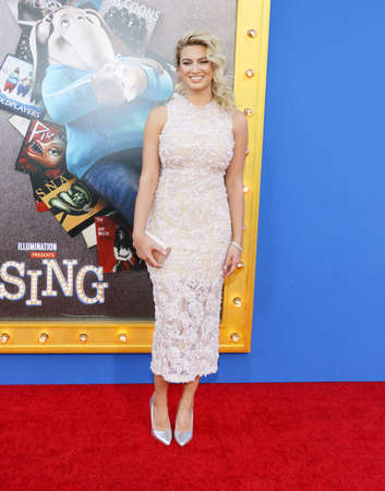Tori Kelly at the Los Angeles premiere of Sing held at the Microsoft Theater in Los Angeles, USA on December 3, 2016. Editorial
