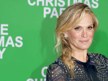 Molly Sims at the Los Angeles premiere of Office Christmas Party held at the Regency Village Theatre in Westwood, USA on December 7, 2016. Editorial