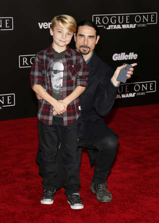 rogue: Kevin Richardson at the World premiere of Rogue One: A Star Wars Story held at the Pantages Theatre in Hollywood, USA on December 10, 2016.