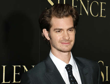 Andrew Garfield at the Los Angeles premiere of Silence held at the Directors Guild Of America in Los Angeles, USA on January 5, 2017.