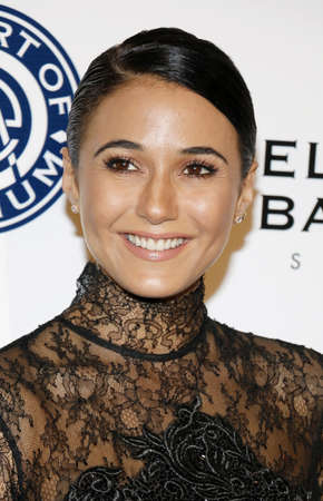 elysium: Emmanuelle Chriqui at the Art of Elysium Celebrating the 10th Anniversary held at the Red Studios in Los Angeles, USA on January 7, 2017. Editorial
