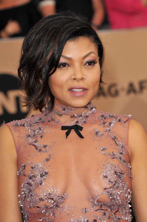guild hall: Taraji P. Henson at the 23rd Annual Screen Actors Guild Awards held at the Shrine Expo Hall in Los Angeles, USA on January 29, 2017.