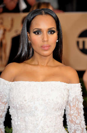 guild hall: Kerry Washington at the 23rd Annual Screen Actors Guild Awards held at the Shrine Expo Hall in Los Angeles, USA on January 29, 2017. Editorial