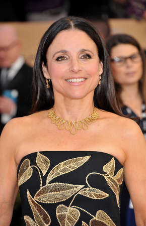 guild hall: Julia Louis-Dreyfus at the 23rd Annual Screen Actors Guild Awards held at the Shrine Expo Hall in Los Angeles, USA on January 29, 2017.