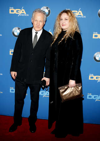 Michael Mann and Summer Mann at the 69th Annual Directors Guild Of America Awards held at the Beverly Hilton Hotel in Beverly Hills, USA on February 4, 2017. Editorial