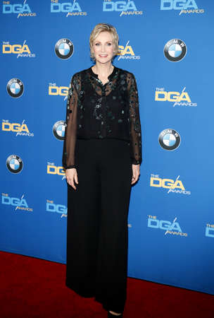 Jane Lynch at the 69th Annual Directors Guild Of America Awards held at the Beverly Hilton Hotel in Beverly Hills, USA on February 4, 2017. Editorial
