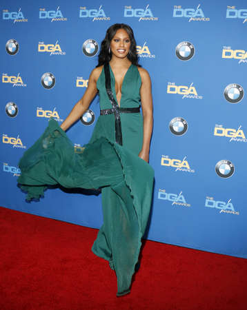 Laverne Cox at the 69th Annual Directors Guild Of America Awards held at the Beverly Hilton Hotel in Beverly Hills, USA on February 4, 2017.