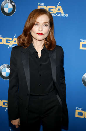 Isabelle Huppert at the 69th Annual Directors Guild Of America Awards held at the Beverly Hilton Hotel in Beverly Hills, USA on February 4, 2017. Editorial