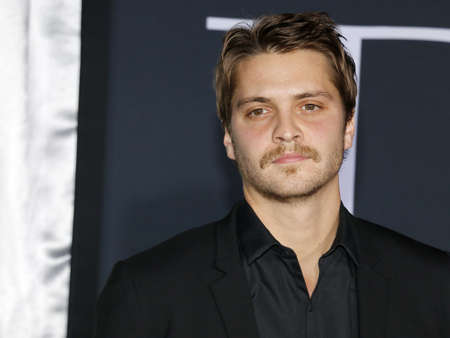 Luke Grimes at the Los Angeles premiere of Fifty Shades Darker held at the Theatre at Ace Hotel in Los Angeles, USA on February 2, 2017.