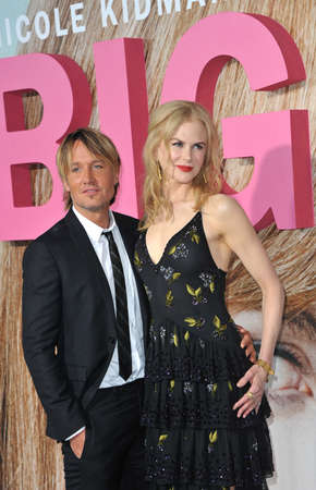 keith: Keith Urban and Nicole Kidman at the HBOs premiere of Big Little Lies held at the TCL Chinese Theatre in Hollywood, USA on February 7, 2017.