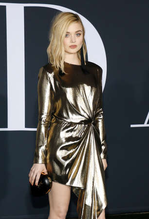 bella: Bella Heathcote at the Los Angeles premiere of Fifty Shades Darker held at the Theatre at Ace Hotel in Los Angeles, USA on February 2, 2017.
