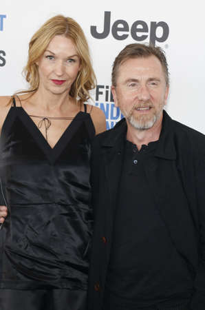 roth: Tim Roth and Nikki Butler at the 2017 Film Independent Spirit Awards held at the Santa Monica Pier in Santa Monica, USA on February 25, 2017. Editorial