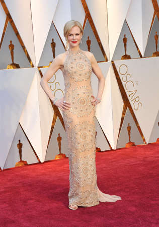 Nicole Kidman bei den 89th Annual Academy Awards im Hollywood und Highland Center in Hollywood, USA am 26. Februar 2017 statt. Standard-Bild - 72818302