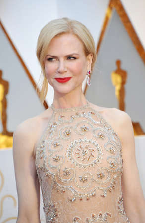 Nicole Kidman at the 89th Annual Academy Awards held at the Hollywood and Highland Center in Hollywood, USA on February 26, 2017. Stock Photo - 72818314