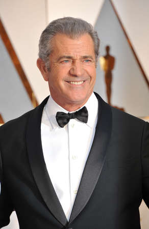 Mel Gibson at the 89th Annual Academy Awards held at the Hollywood and Highland Center in Hollywood, USA on February 26, 2017.