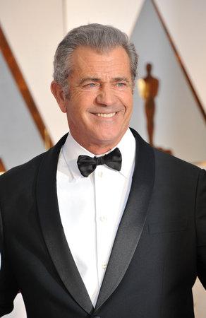Mel Gibson bei den 89. jährlichen Oscars im Hollywood and Highland Center in Hollywood, USA am 26. Februar 2017 statt. Standard-Bild - 72818320