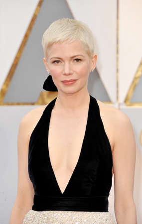Michelle Williams at the 89th Annual Academy Awards held at the Hollywood and Highland Center in Hollywood, USA on February 26, 2017.