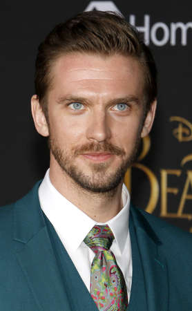 Dan Stevens at the Los Angeles premiere of Beauty And The Beast held at the El Capitan Theatre in Hollywood, USA on March 2, 2017.