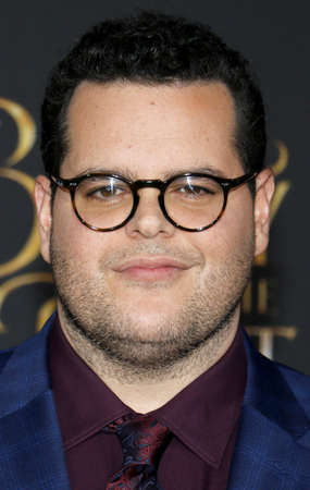 gad: Josh Gad at the Los Angeles premiere of Beauty And The Beast held at the El Capitan Theatre in Hollywood, USA on March 2, 2017.