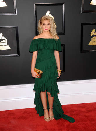 kelly: Tori Kelly at the 59th GRAMMY Awards held at the Staples Center in Los Angeles, USA on February 12, 2017.