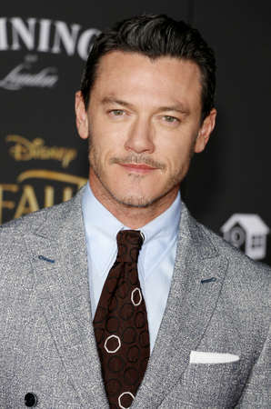 Luke Evans at the Los Angeles premiere of Beauty And The Beast held at the El Capitan Theatre in Hollywood, USA on March 2, 2017. Editorial