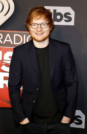 Ed Sheeran at the 2017 iHeartRadio Music Awards held at the Forum in Inglewood, USA on March 5, 2017.