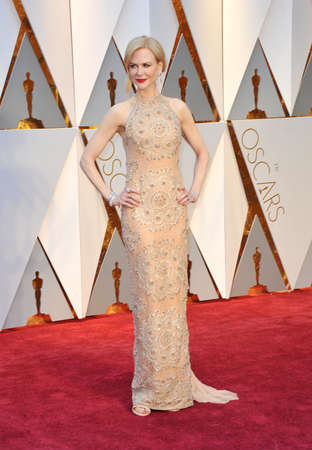 oscars: Nicole Kidman at the 89th Annual Academy Awards held at the Hollywood and Highland Center in Hollywood, USA on February 26, 2017.