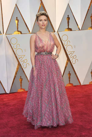 Scarlett Johansson at the 89th Annual Academy Awards held at the Hollywood and Highland Center in Hollywood, USA on February 26, 2017. Stock Photo - 73238742