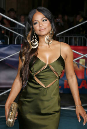 Christina Milian at the Los Angeles premiere of Kong: Skull Island held at the El Capitan Theatre in Hollywood, USA on March 8, 2017.