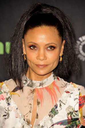 Thandie Newton at the 34th Annual PaleyFest Los Angeles presentation of Westworld held at the Dolby Theatre in Hollywood, USA on March 25, 2017. Editorial