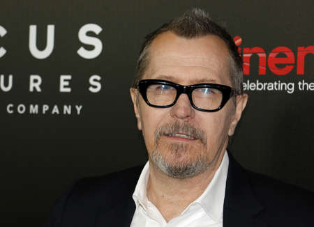 caesars palace: Gary Oldman at the CinemaCon 2017 - Focus Features Luncheon And Studio Program Celebrating 15 Years held at the Caesars Palace in Las Vegas, USA on March 29, 2017. Editorial