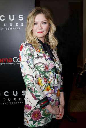 caesars palace: Kirsten Dunst at the CinemaCon 2017 - Focus Features Luncheon And Studio Program Celebrating 15 Years held at the Caesars Palace in Las Vegas, USA on March 29, 2017.