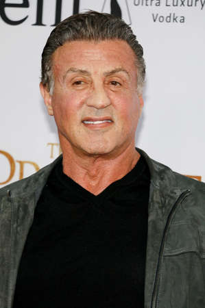 Sylvester Stallone at the Los Angeles premiere of The Promise held at the TCL Chinese Theatre in Hollywood, USA on April 12, 2017.