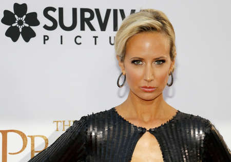 Lady Victoria Hervey at the Los Angeles premiere of The Promise held at the TCL Chinese Theatre in Hollywood, USA on April 12, 2017. Editorial
