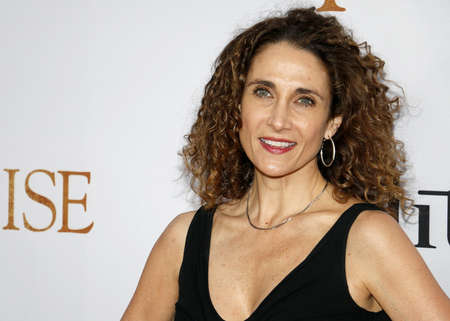 Melina Kanakaredes at the Los Angeles premiere of The Promise held at the TCL Chinese Theatre in Hollywood, USA on April 12, 2017.