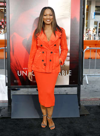 Garcelle Beauvais at the Los Angeles premiere of Unforgettable held at the TCL Chinese Theatre in Hollywood, USA on April 18, 2017.