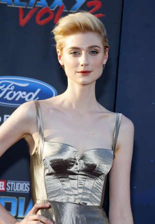 dolby: Elizabeth Debicki at the Los Angeles premiere of Guardians Of The Galaxy Vol. 2 held at the Dolby Theatre in Hollywood, USA on April 19, 2017.