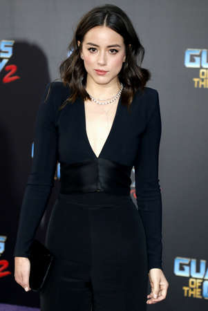 dolby: Chloe Bennet at the Los Angeles premiere of Guardians Of The Galaxy Vol. 2 held at the Dolby Theatre in Hollywood, USA on April 19, 2017.