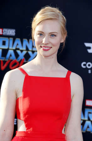 Deborah Ann Woll at the Los Angeles premiere of Guardians Of The Galaxy Vol. 2 held at the Dolby Theatre in Hollywood, USA on April 19, 2017. Editorial