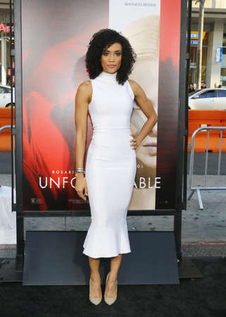 annie: Annie Ilonzeh at the Los Angeles premiere of Unforgettable held at the TCL Chinese Theatre in Hollywood, USA on April 18, 2017.