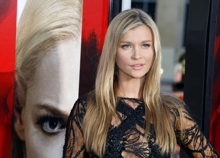 Joanna Krupa at the Los Angeles premiere of Unforgettable held at the TCL Chinese Theatre in Hollywood, USA on April 18, 2017. Editorial