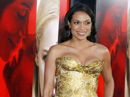 Rosario Dawson at the Los Angeles premiere of Unforgettable held at the TCL Chinese Theatre in Hollywood, USA on April 18, 2017. Editorial