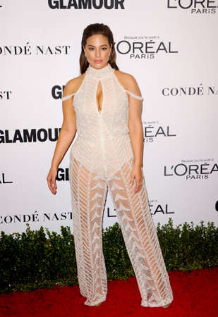 Ashley Graham at the Glamour Women Of The Year 2016 held at the NeueHouse in Hollywood, USA on November 14, 2016. Redactioneel