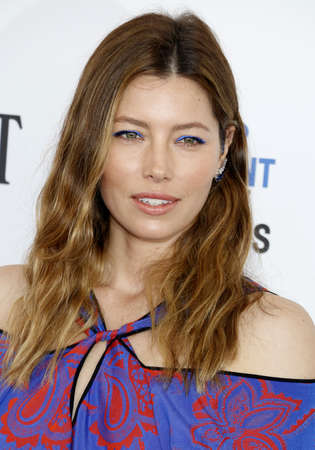 Jessica Biel at the 2016 Film Independent Spirit Awards held at the Santa Monica Beach in Santa Monica, USA on February 27, 2016.