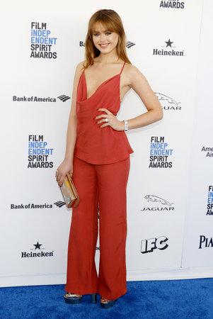 Kristina Bazan at the 2016 Film Independent Spirit Awards held at the Santa Monica Beach in Santa Monica, USA on February 27, 2016.