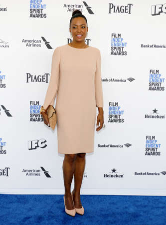 Aisha Tyler at the 2016 Film Independent Spirit Awards held at the Santa Monica Beach in Santa Monica, USA on February 27, 2016. Editorial