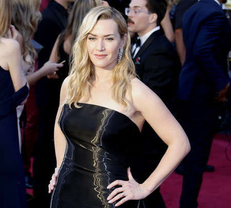 Kate Winslet at the 88th Annual Academy Awards held at the Hollywood & Highland Center in Hollywood, USA on February 28, 2016. Editorial