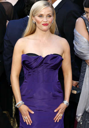 Reese Witherspoon at the 88th Annual Academy Awards held at the Hollywood & Highland Center in Hollywood, USA on February 28, 2016. Editorial