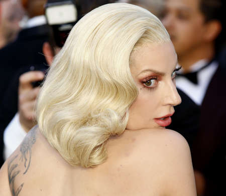 gaga: Lady Gaga at the 88th Annual Academy Awards held at the Hollywood & Highland Center in Hollywood, USA on February 28, 2016.