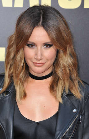 snatched: Ashley Tisdale at the Los Angeles premiere of Snatched held at the Regency Village Theatre in Westwood, USA on May 10, 2017.